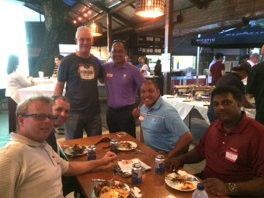 Club Managers' Association (Singapore) Inaugural Golf Get-Together & Networking Night