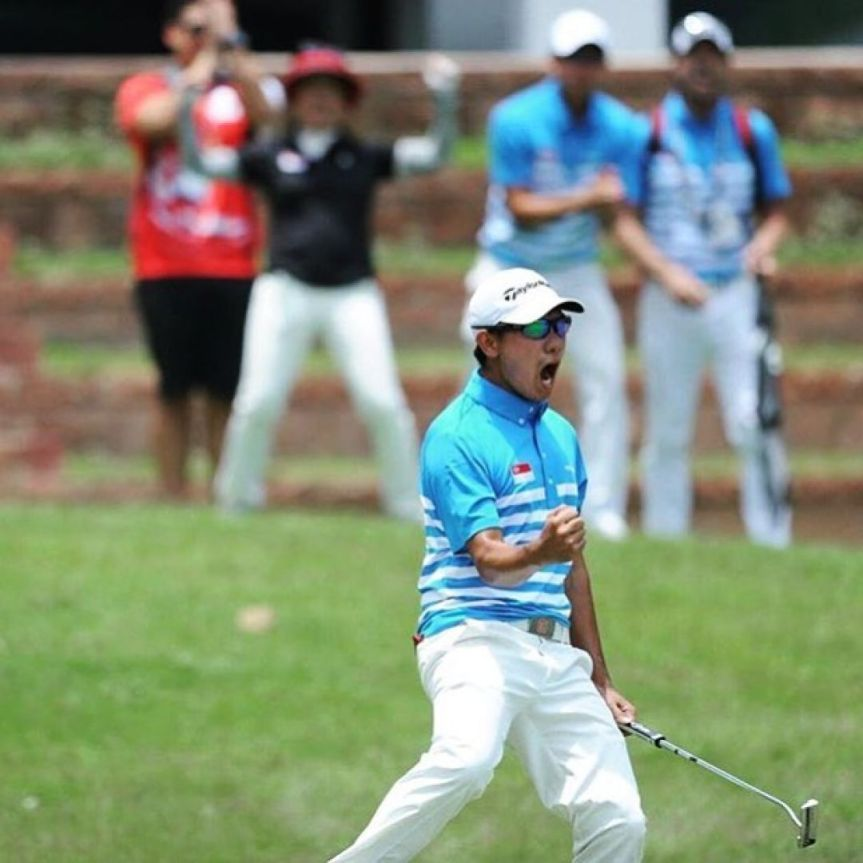 SEA Games: Singapore golfers win first-ever teamgold