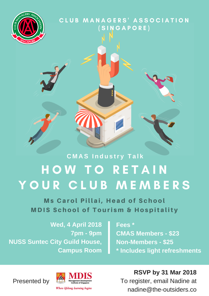 CMAS Industry Talk: How to Retain Your Club Members