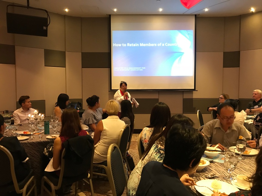 Post-Event Pictures: CMAS Industry Talk – How to Retain Your ClubMembers