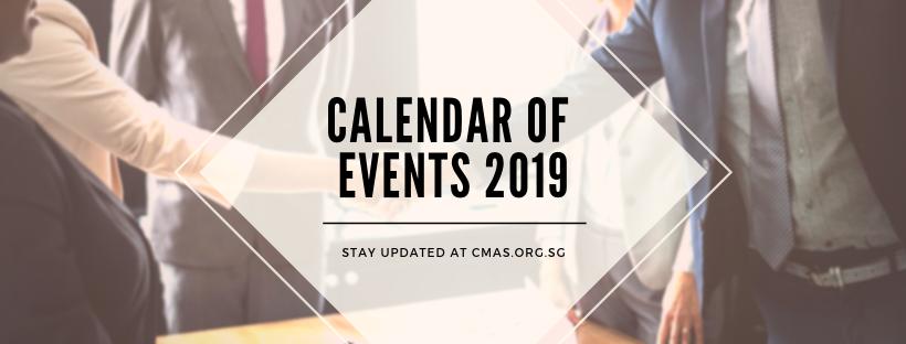 Calendar of Events2019