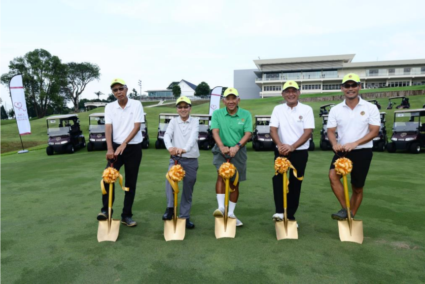 SICC Groundbreaks for a 27-Hole Golf Course
