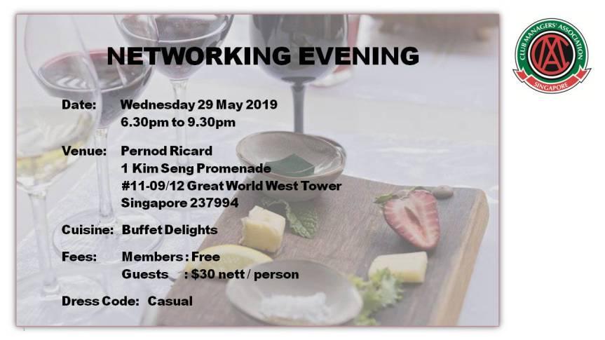 Invitation for NetworkingEvening